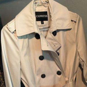Express Short Trench coat